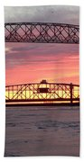 Painted Bridge Beach Towel