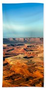 Painted Canyonland Beach Towel