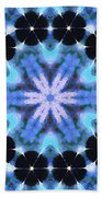 Painted Cymatics 108.00hz Beach Towel
