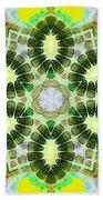 Painted Cymatics 181.66hz Beach Towel