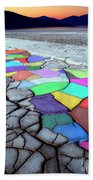 Painted Desert Beach Towel