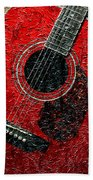 Painted Guitar - Music - Red Beach Towel