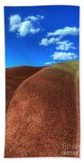 Painted Hills Blue Sky 2 Beach Towel