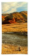Painted Hills Sunset Beach Towel