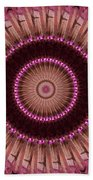 Painted Kaleidoscope 14 Beach Towel