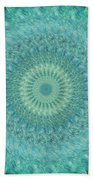 Painted Kaleidoscope 4 Beach Towel