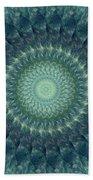 Painted Kaleidoscope 6 Beach Towel