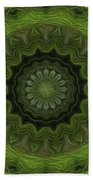 Painted Kaleidoscope 8 Beach Towel