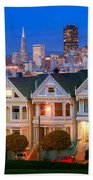 Painted Ladies Beach Towel