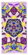 Painted Lotus Xvi Beach Towel