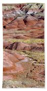 Painted Mounds Beach Towel