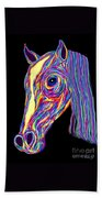 Painted Pony Beach Towel