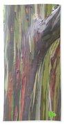 Painted Tree Beach Towel