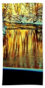 Painter's Box Beach Towel