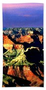 Painting The Grand Canyon National Park Beach Towel