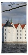 Palace Gluecksburg - Germany Beach Towel