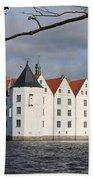 Palace Gluecksburg - Germany Beach Towel