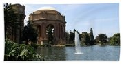 Palace Of Fine Arts And Lagoon Beach Towel