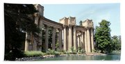 Palace Of Fine Arts Colonnades  Beach Towel
