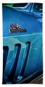 Pale Blue Rider -2 Beach Towel