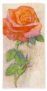Pale Rose Beach Towel
