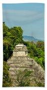 Palenque Temple Beach Towel