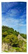 Palenque View Beach Towel