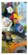 Palette Abstract Beach Towel