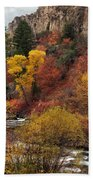 Palisades Creek Canyon Beach Towel