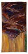 Palm Bark Beach Towel