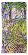 Palm Grove Beach Towel