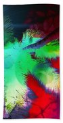 Palm Prints Beach Towel