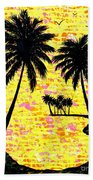 Palm Sunday Beach Towel