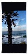 Palm Waves Beach Towel