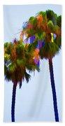 Palms 8 Beach Towel