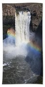Palouse Falls Beach Towel by Mark Kiver