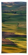 Palouse Shadows Beach Towel