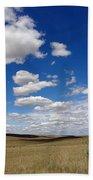 Palouse Skies Beach Towel