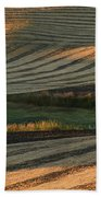 Palouse Sunset Beach Towel
