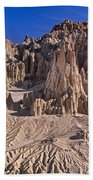 Panaca Formations In Cathedral Gorge State Park Nevada Beach Towel