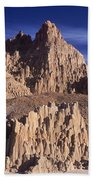 Panaca Sandstone Formations Cathedral Gorge State Park Nevada Beach Towel