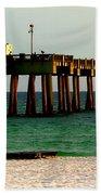 Panama City Beach Pier 2  Beach Towel