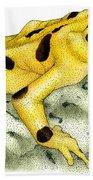 Panamanian Golden Frog Beach Towel