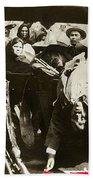 Pancho Villa Ambushed July 20 1923 1923 Dodge Touring Car 1923-2013 Beach Towel