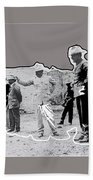 Pancho Villa  Shooting Pistol Mexico City 1914-2013 Beach Towel