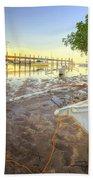 Panglao Port Sunset 4.0 Beach Towel