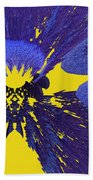 Pansy By Jammer Beach Towel