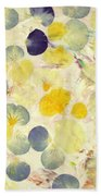 Pansy Petals Beach Towel by James W Johnson