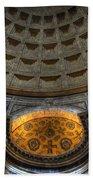 Pantheon Ceiling Detail Beach Towel