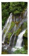 Panther Creek Falls 2- Washington Beach Towel